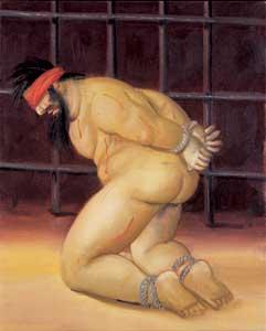 """Abu Ghraib"", serie de Fernando Botero"