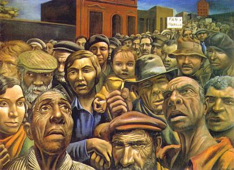 Manifestación (1934), de Antonio Berni