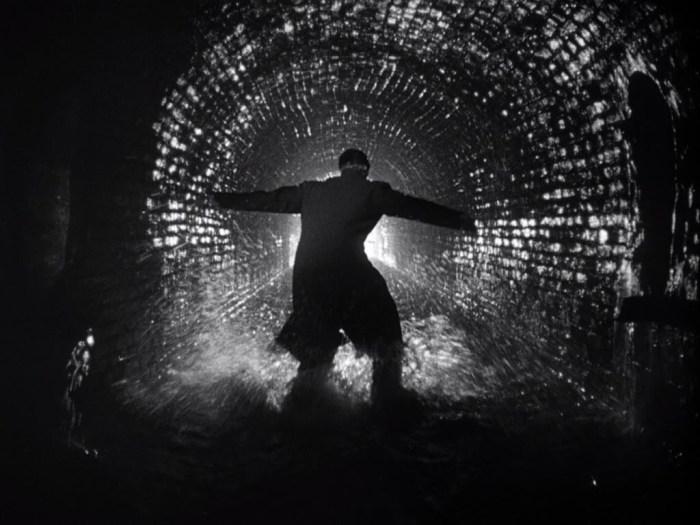 """Fotograma de """"El tercer hombre"""" de Orson Wells."""